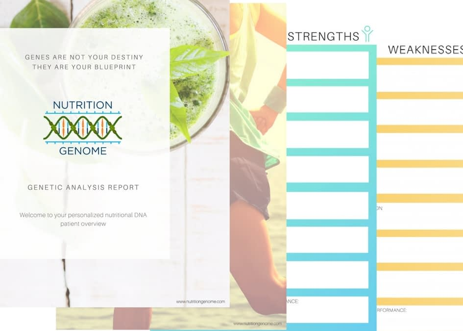 The Difference between the New Nutrition Genome Report and the 23andme Version of the Nutrition Genome Report