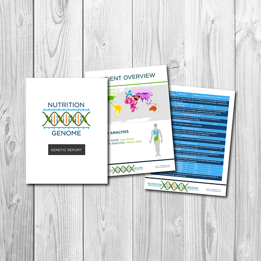 The Nutrition Genome DNA nutrition report